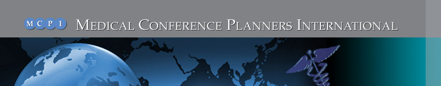 Medical Conference Planners International services banner