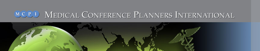 Medical Conference Planners International home banner
